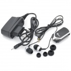 W-Sound MX-300 2.4GHz Bluetooth V2.1 Handsfree Receiver w/ Earphone Kit - Black + Silver