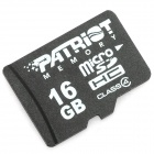 PATRIOT Micro SD / TF Card - 16GB (Class 4)