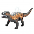 Cool Dragon Action Figure Spielzeug mit Sound Effect / bunte Lichter / Green Eyes / rote Zunge (3 x AA)