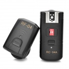 RC-04A 433MHz Flash Trigger Remote Control Transmitter Receiver Kit