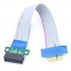 36-Pin to PCI-E 1X Extension Cable - Grey