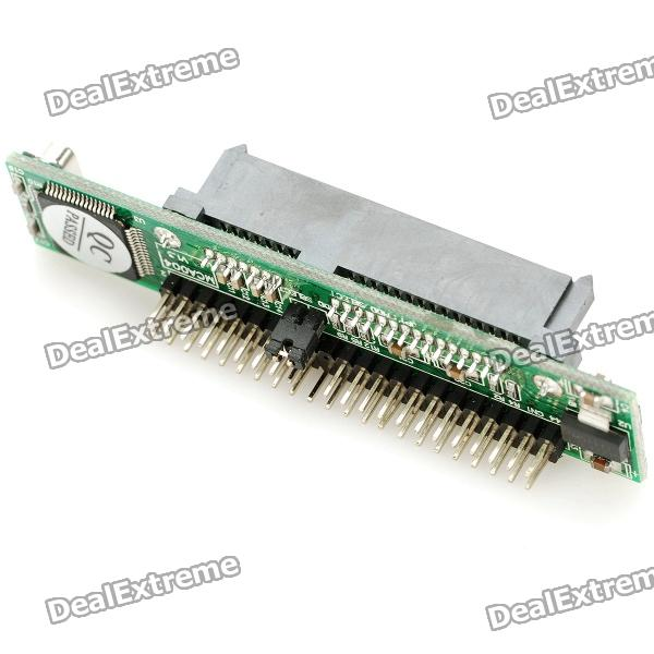 Фото SATA 7+15 Pin to IDE Adapter Module 1pcs serial ata sata 4 pin ide molex to 2 of 15 hdd power adapter cable hot worldwide promotion