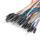 Breadboard Jumper Wires for Electronic DIY (65-Cable Pack)