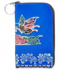 Stilvolles Blumenmuster Protective PU Leather Pouch für iPhone 4 / 4S (Random Color)