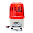 90dB Alarm Siren with Sound / Red Light - Red + Beige