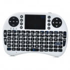 Genuine Rii Mini I8 Mini Wireless 92-Key QWERTY Keyboard Mouse Touchpad with USB Receiver