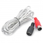 5-Pin MIDI Male to Female Extension Cable for Electronic Organ (3M-Cable Length)