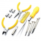 25-in-1 Handy Portable Precision Maintenance Tool Screwdrivers & Pliers Set
