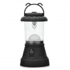 1W 7000K 110LM 11-LED White Light Camping Lamp (3 x AA) - Black