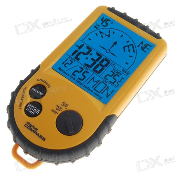 Professional Electronic Compass and Digital Thermometer ...