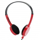 Stylish Headphone Headset w/ Microphone - Red (3.5mm-Plug / 175cm-Cable)
