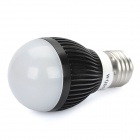 E27 3W 6500K 300-Lumen 3-LED White Light Bulb (AC 85~240V)