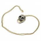 Charming Skull Head Style Pocket Watch with Chains (1 x 377)