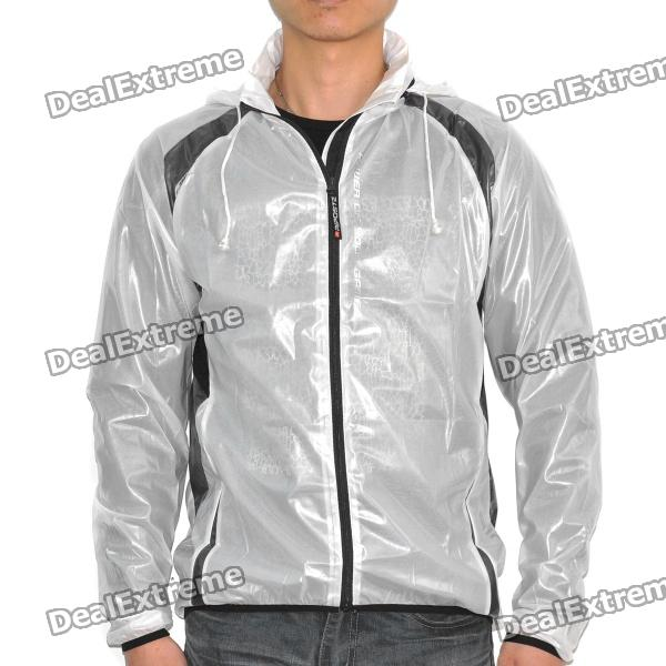 Riposte Water Resistant Riding Jacket - White (Size-XXL)