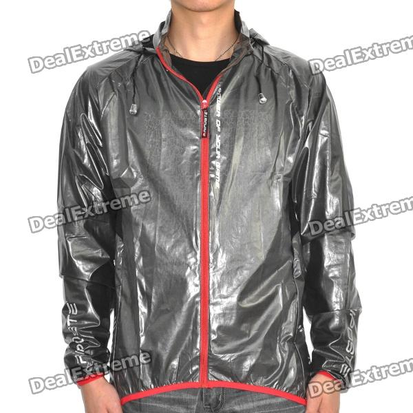 RIPOSTE Water Resistant Riding Jacket - Red + Black (Size-XXL)