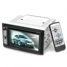 "6.2 ""резистивный экран автомобильный DVD Media Player ж / TV / Bluetooth / FM / 3D / SD"