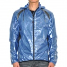 Riposte Water Resistant Riding Jacket - Blau (Größe-L)