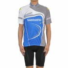 2011 SHIMANO Cycling Bicycle Riding Short Sleeve Suit Jersey + Shorts Set (Size-XL)