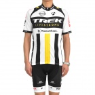 2011 TREK Cycling Bicycle Riding Short Sleeve Suit Jersey + Shorts Set (Size-L)