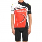 2011 Shimano Bicycle Riding Short Sleeve Suit Trikot + Shorts Set (Größe-XXL)