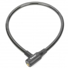 Buy Anti-Theft Bike Bicycle Security Cable Lock 2 Keys - Black (80cm-Length)