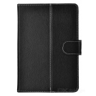 "Protective PU Leather Case for 7"" & 8"" Tablet - Black"