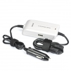 Universal Car Charger w/ Adapters for Laptop (DC 10~15V)