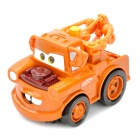Netter Disney Pixar Cars Mater Shake-Rev 2 und Go Action Racing Car w / Sound Effect - Tan (2 x AA)