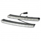 10W 6500K 120-Lumen 20-LED White Light Car Daytime Running Lamps (DC 12V / Pair)