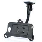 Car Swivel Mount Holder for Samsung i9220 - Black