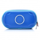 Protective Leather Hard Pouch Case for PS Vita - Deep Blue