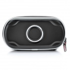 Protective Leather Hard Pouch Case for PS Vita - Black