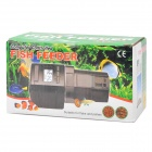 "1.3"" LED automatisk akvarium fisk Feeder (2 x AA / 100ml)"