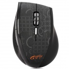 2.4GHz Wireless Optical Mouse with USB Receiver - Black