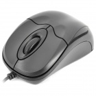 Mini USB 1000DPI Optical Mouse for PC / Laptop - Black