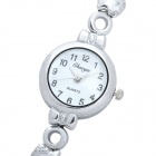 Fashion Quartz Wrist Watch for Women - Silver (1 x 377A)