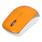 G2 2.4GHz Wireless Optical Mouse 1000dpi w / USB-Receiver - Gelb (1 x AA)