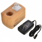 Portable 11W Ultrasonic Air Humidifier with Flow Control - Wooden (100~240V)