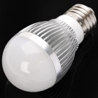 LeXing E27 450-500LM 3000K 15-SMD LED Warm White Light Bulb (6W/AC220V)