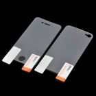 Protective Front + Back Clear Screen Protector Guard Film Set for Iphone 4S - Transparent