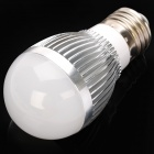 E27 450-500LM 6000-6500K 15-SMD LED White Light Bulb (6W/AC220V)