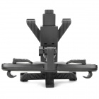 Car Back Seat Swivel Mount Holder for Samsung Galaxy Tab P6200 / P6800 - Black