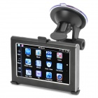 "4.3"" Touch Screen WinCE 6.0 MTK3351 GPS Navigator with FM / 4GB TF Card w/ Canada Map - Black (4GB)"
