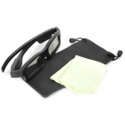 Genuine JVC IR 3D Active Shutter Glasses - Black (2 x LR44)