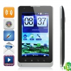 "E8 Android 2.3 GSM TV Smartphone w/5"" Capacitive, Dual SIM, Quadband, Wi-Fi and GPS - Silver"