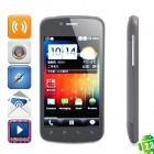 "T9190 Android 2.3 WCDMA Smartphone w/ 4.0"" Capacitive, Dual SIM, Wi-Fi and GPS - Black"