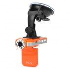 "F2000L 1080P 5MP CMOS Weitwinkel Auto DVR Camcorder w / 8-IR-LED / HDMI / AV / TF - Orange (2 ""-LCD)"