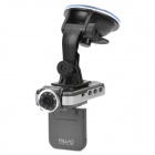 F2000L 1080P 5MP CMOS Wide Angle Car DVR Camcorder w/ 8-IR LED / HDMI / AV / TF - Grey (2
