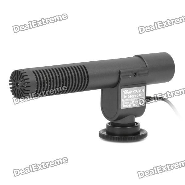 Professional Directional Stereo Microphone (1 x CR2)
