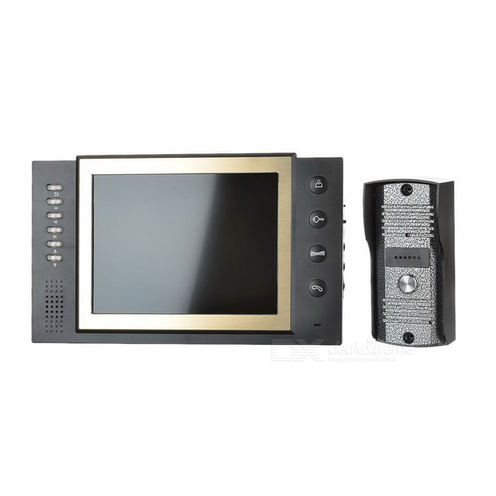 "8"" LED 300KP CMOS Digital Video Door Phone with 6-LED IR Night Vision"